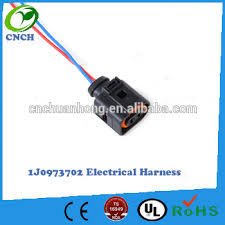 electrical harness 2 pin connector plug wiring 1j0973702 1j0 973 Trailer Harness Connector at Pin Connector Plug Wire Harness