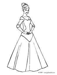 Coloriages Robe De Princesse Colorier Fr Hellokids Com