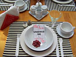 Table Setting For Breakfast Olla Podrida Valentine Breakfast Tablesetting