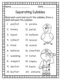 Vcv Pattern Mesmerizing Syllables Task Cards VCV Pattern And Final Stable Syllables