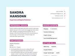 Resumes With Picture Create Beautiful Resumes In 20 Minutes Or Less Careerlyft