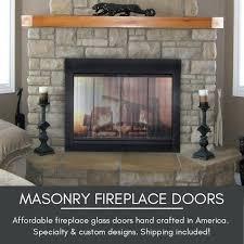 fireplace door glass fireplace glass door parts