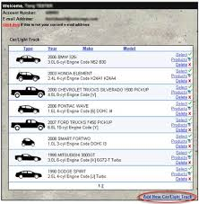 vehicles maintenance records amsoil mygarage free online vehicle maintenance and record keeping