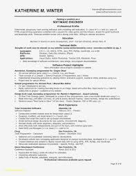 020 Software Developer Resume Template Ideas Sample Lovely Engineer