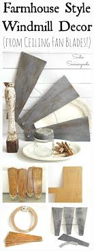 classic diy repurposed furniture pictures 2015 diy. DIY Farmhouse Style Salvaged Windmill Decor From Ceiling Fan Blades Classic Diy Repurposed Furniture Pictures 2015 T