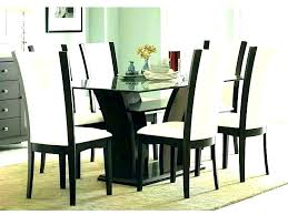 dining table chairs set kitchen tables with chairs glamorous round glass dining table and chairs round