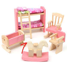 cheap wooden dollhouse furniture. Delicate Wooden Dollhouse Furniture Toys Miniature For Kids Children Pretend Play Bedroom Kitchen 6 Room Set/4 Dolls Gifts-in From Cheap