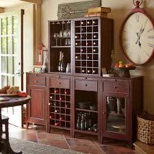 Build Your Own Wells Wine Cabinet - Mahogany | Pier 1 Imports