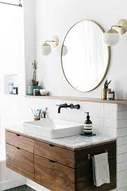Round Bathroom Mirror Inspirations Shopping Picks Apartment Therapy