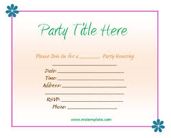 Free Housewarming Invitation Templates You Get Ideas From