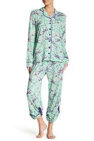 Dragonfly Two Piece Pajama Set