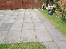 the good shape of flagstones patios. Flagstone Patio Moss. Pation Slab Paver Moss Lichen Cleaning Wetting Pic 02 The Good Shape Of Flagstones Patios