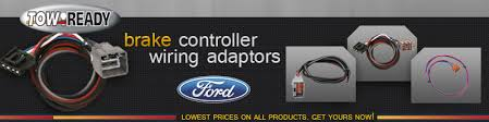tow ready brake controller wiring adaptors ford 4wheelonline com tow ready brake controller wiring adaptors for ford