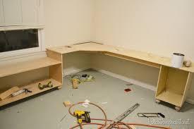 diy office desk building an office desk