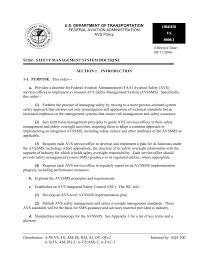 Faa Afs Org Chart Faa Order Vs8000 1 Sms Doctrine