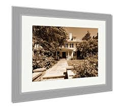 ashley framed prints typical victorian home at the georgetown neighborhood in washington d c wall art on typical wall art size with amazon ashley framed prints typical victorian home at the
