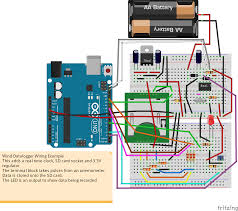 low cost wind datalogger renewable energy innovation a slightly confusing breadboard wiring diagram using an arduino uno is shown here