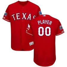 Personalized Rangers Texas Rangers Personalized Texas Jersey Personalized Jersey