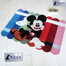 mickey mouse bathroom rug children room area rugs carpet cartoon handmade