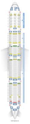 Boeing 777 300er Seating Chart Thai Airways Boeing 777 300er Premium Economy Seat Map Best Description
