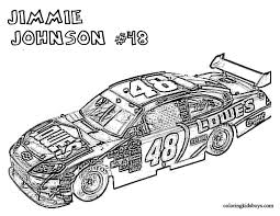 Nascar Coloring Pages Free Nascar Coloring