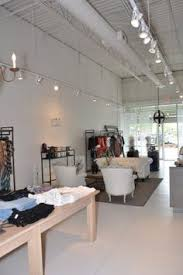 exposed ceiling lighting. Track Lighting Retail Boutique Build Out Atlanta GA Exposed Ceiling