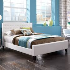 white full size platform bed. Perfect Bed Full Size Platform Bed White Throughout