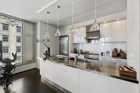 contemporary kitchen office nyc. View In Gallery Modern Apartment New York Contemporary Kitchen Office Nyc N