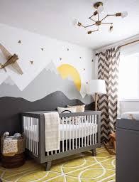 ... Yellow swirl rug used in nursery