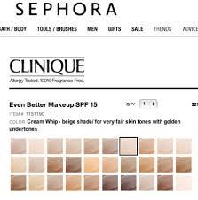 Clinique Superbalanced Shade Chart July 2013 Teejayesbeauty