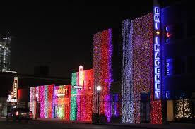 Christmas Lights In Oklahoma Christmas Lights On Automobile Alley In Oklahoma City City