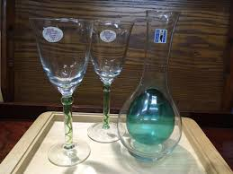 new goods wine set ka rough 1 piece wine glass 2