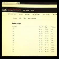 Liz Claiborne Size Chart Liz Claiborne Size Chart Lovely Women S Miss Me Jean Size