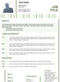 Example Modern Resume - Kleo.beachfix.co