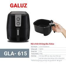 Nồi chiên không dầu Galuz GLA-615 (5,2 lít) – Siêu Thị TG