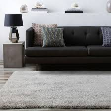 grey gy floor rug luxury large mat soft thick lounges carpet 200 290cm