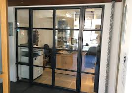 steel replacement french doors in surrey west london p glass
