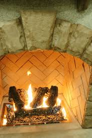 log set and grate for cf 1224 burner in outdoor gas fireplace