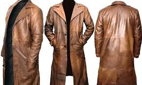 brown trench coat mens brown leather trench coat batman dawn of justice distressed real dark brown brown trench coat mens new brand winter long