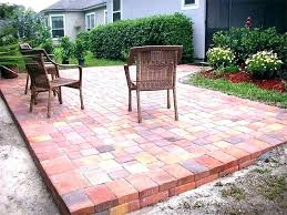 thin patio pavers brick red image of patio designs thin patterns tile thin brick pavers over