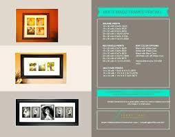 10 x 30 panoramic frame