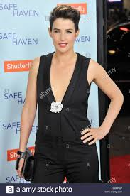 Cobie Smulders at the Safe Heaven Premiere at the Chinese ...