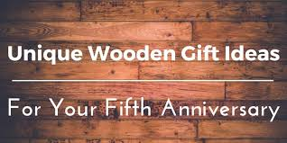 wood anniversary gifts