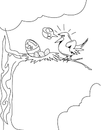 Small Picture Nest Egg In A Color Sheet Coloring Coloring Pages