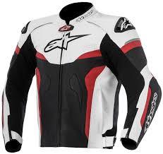 alpinestars celer leather jacket clothing jackets motorcycle black white red alpinestars leather jacket