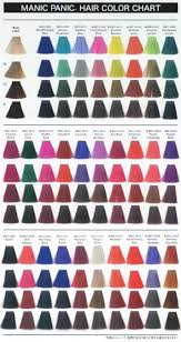 Unnatural Hair Color Chart What Brand Of Hair Dye Is The Best For Bright Red Quora
