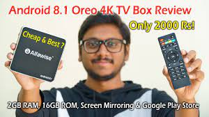 Cheap & Best Android 8.1 4K TV Box for only 2000 Rs... - YouTube