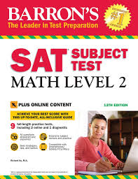 Barrons Sat Subject Test Math Level 2 With Online Tests