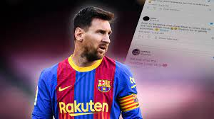 """Etwas in mir ist gerade gestorben"""": Die Netzreaktionen zum Messi-Aus beim  FC Barcelona - Sportbuzzer.de"""