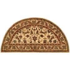 semi circle rugs half moon area rug semi circle rugs